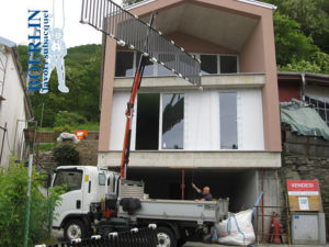 Costruzione ringhiere in ferro in Ticino