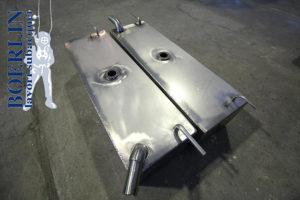 Serbatoi in acciaio inox in Ticino