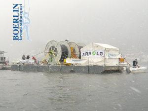 Posa di fibre ottiche Lago Maggiore