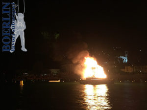 1. August-Höhenfeuer in Magadino