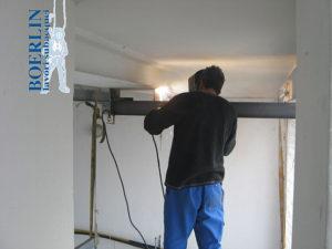 Installazione di un impianto di alaggio per imbarcazione