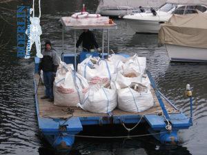 Transport von Materialien
