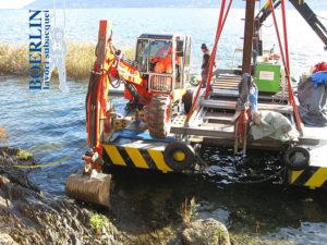 Ausbaggerungen, Lago Maggiore