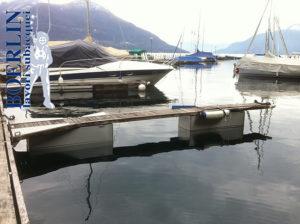 Sostituzione galleggianti danneggiati con galleggianti in inox costruiti su misura.