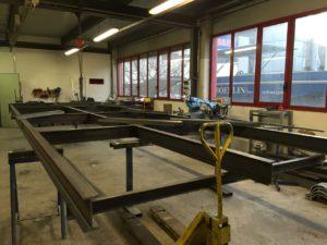 Officina per metalcostruzioni