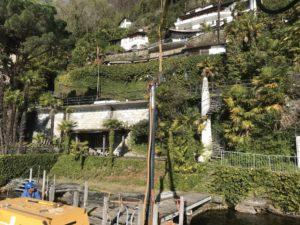 Wartung Bootssteg Lago Maggiore