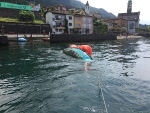 Bergung eines Motorboots