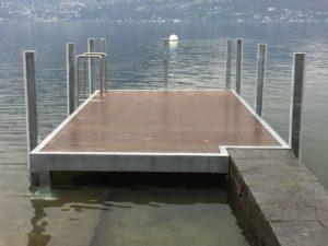 Privatsteg - Konstruktion eines massgeschneiderten Bootsstegs